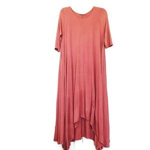 Love In Maxi Dress Lagenlook Boho Size Large